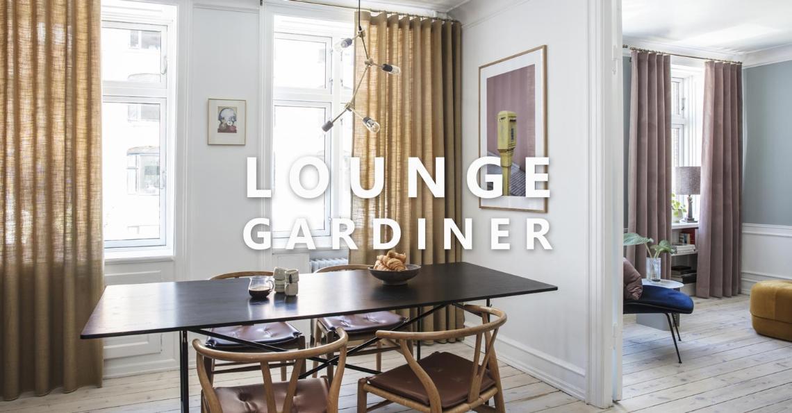 Uvanlig Kvalitetstekstiler til gardiner og bolig interiør | Pagunette CO-03